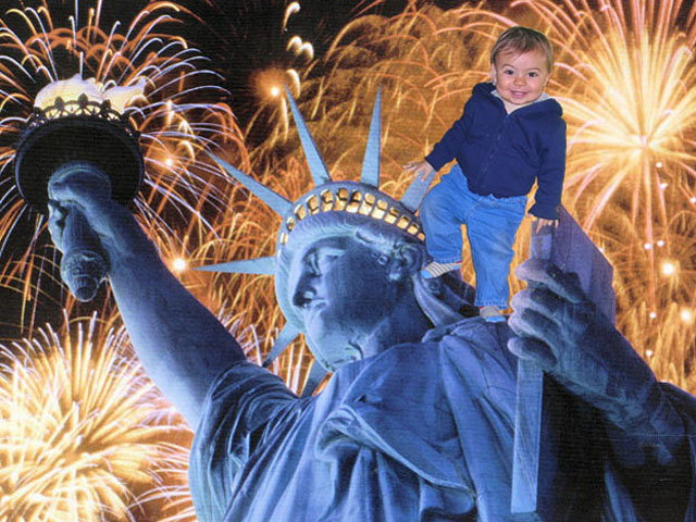 Emmett LOVES Liberty!!!