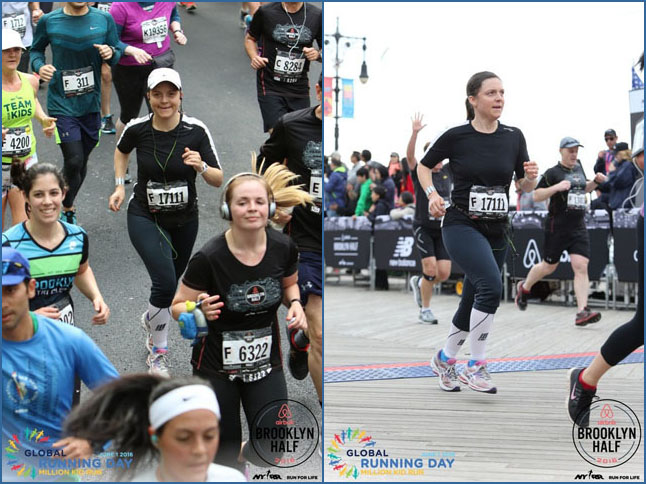 Photo & Video Album: Kalle Ran the Brooklyn Half-Marathon