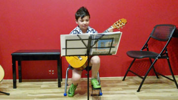Emmett's 2nd & 1st Grade Guitar Concerts – January 2017  and May & January 2016
